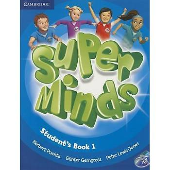 Cambridge Super Minds,1 Student's Book with DVD-ROM+ Workbook