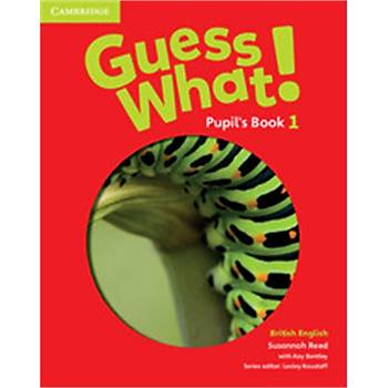 Cambridge Guess What! Level 1 Pupil's Book+Wb