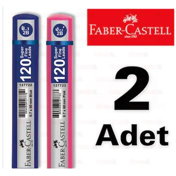 FABER CASTELL 120 LÝ MÝN 0,7 KALEM UCU 2 ADET 1427 8690826127771