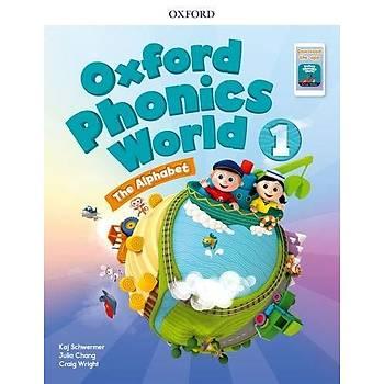 OXFORD OXFORD PHONICS WORLD 1 NEW SB PK 2019+WB