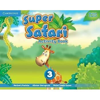 Cambridge Super Safari,3 Activity Book+ Pupil's Book with DVD-ROM
