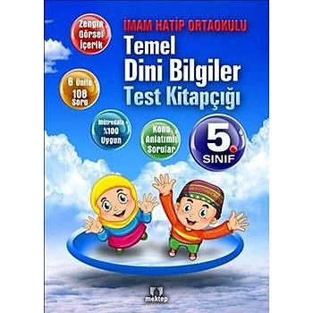 5. Sýnýf Temel Dini Bilgiler Test Kitapçýðý