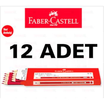 FABER CASTELL KIRMIZI KOPYA KALEMÝ 1 DÜZÝNE 8690826141012 1410