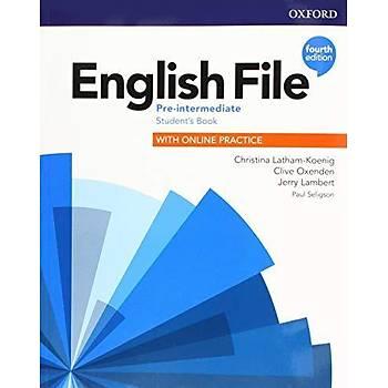 OXFORD ENGLISH FILE 4ED PRE-INT SB +WB