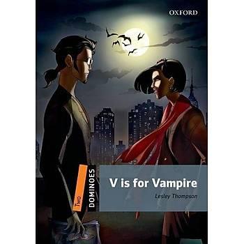 OXFORD DOM 2:V IS FOR VAMPIRE +CD  NEW