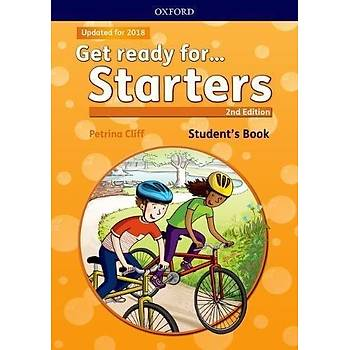 OXFORD GET READY FOR STARTERS SB W/M-ROM 2ED