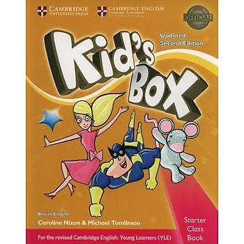 Cambridge Kid's Box 2ED Upd,St Class Book with CDROM