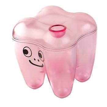 Tooth Saving Box - Diþ Þeklinde Pembe Kutu