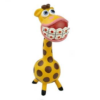 Ortodonti Braketli Zürafa Biblo