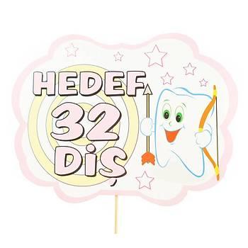 Hedef 32 Diþ Kutlama Maskesi