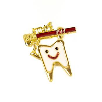 Özel Tasarým Rozet - Dental Broþ