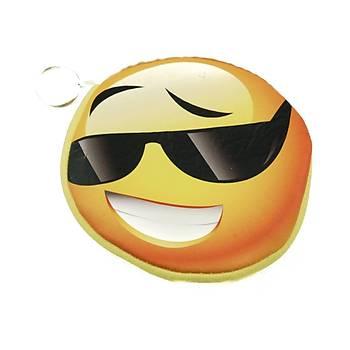 Çapkýn  Emoji Anahtarlýk Cüzdan
