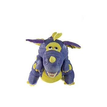 Diþ Fýrçalý Büyük Peluþ Dragon Pedodonti - Dragon Dental Puppets