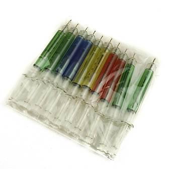Renkli Enjektör Mekanizmalý Tükenmez Kalemler