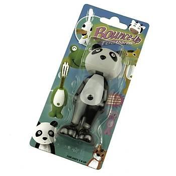 Panda  Figürlü Mekanizmalý Diþ Fýrçasý - Bounce Up