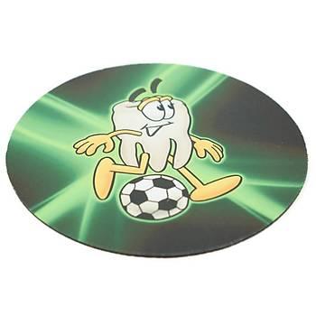Mouse Pad Diþ Futbolcu