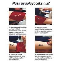 Çaresiz Kaldýðýn Zaman Atatürk Gibi Düþün Tattoo Dövme Þablonu Kýna Deseni