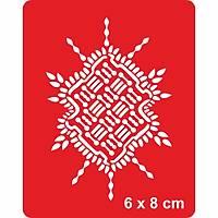 Mandala 359 Dövme Þablonu Kýna Deseni