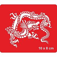 Çin Fener Festivali Dragonu Dövme Þablonu Kýna Deseni