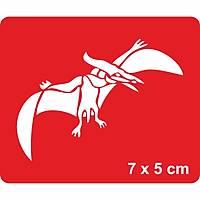 Uçan Dinazor Pterosaurs Dövme Þablonu Kýna Deseni