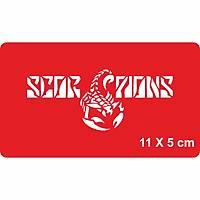 Deðiþim Rüzgarý Scorpions Dövme Þablonu Kýna Deseni