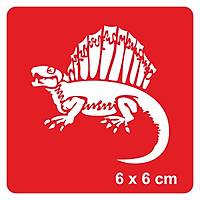 Dinazor Kagasaurus Dövme Þablonu Kýna Deseni