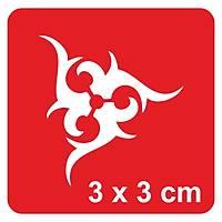 Üçlü Tribal-2 Dövme Þablonu Kýna Deseni