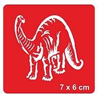 Dinazor Velociraptor Dövme Þablonu Kýna Deseni