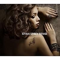 Tattoo Dövme Spreyi ve Þablon Seti - Yeni Yýl Tattoo