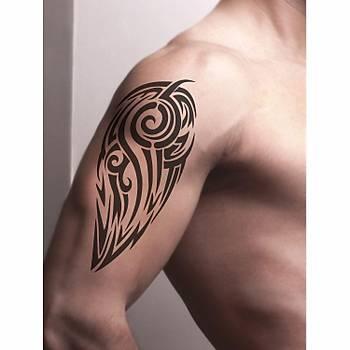 Tribal 204 Dövme Þablonu Kýna Deseni