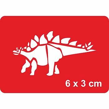 Dinazor Hesperosaurus Dövme Þablonu Kýna Deseni