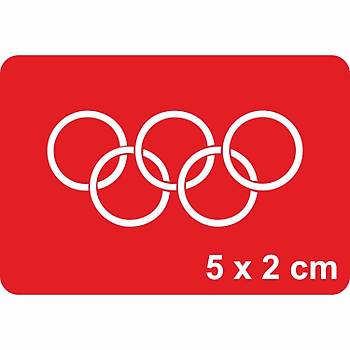 5 Kýtanýn Temsili Olimpiyat Dövme Þablonu Kýna Deseni