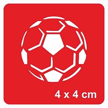 Futbol Topu Dövme Þablonu Kýna Deseni