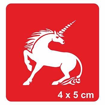 Asil Güzel Unicorn Dövme Þablonu Kýna Deseni