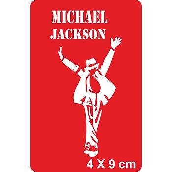 Pop'un Kralý Michael Jackson Dövme Þablonu Kýna Deseni