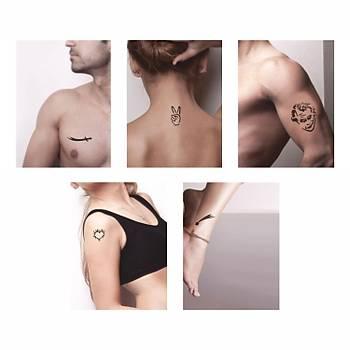 Zafer Modelleri Sprey Dövme ve Þablon Seti Tattoo