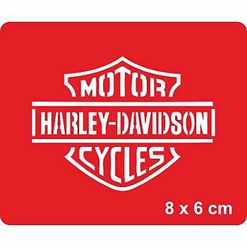 Harley Davidson Arma Dövme Þablonu Kýna Deseni