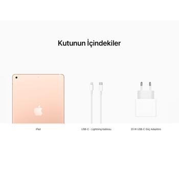 iPad 10.2'' (8.Nesil) Wi-Fi 128GB Altýn MYLF2TU/A
