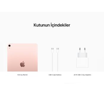 iPad Air 10.9'' Wi-Fi 64GB Rose Altýn MYFP2TU/A