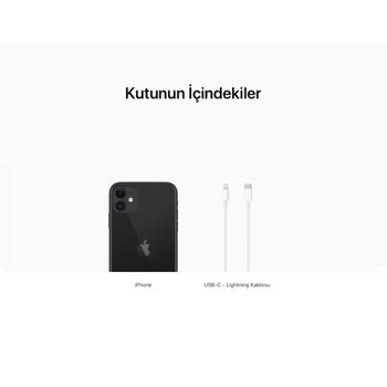 iPhone 11 Siyah 256GB MHDP3TU/A