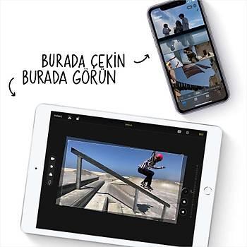 iPad 10.2'' (8.Nesil) Wi-Fi + Cellular 32GB Gümüþ MYMJ2TU/A