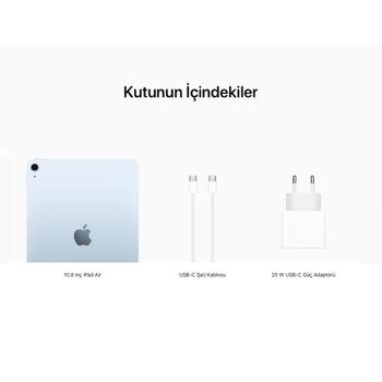 iPad Air 10.9'' Wi-Fi 256GB Gök mavisi MYFY2TU/A