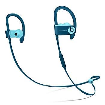 Beats PowerBeats 3 Wireless Kulak Ýçi Kulaklýk - Pop Mavi