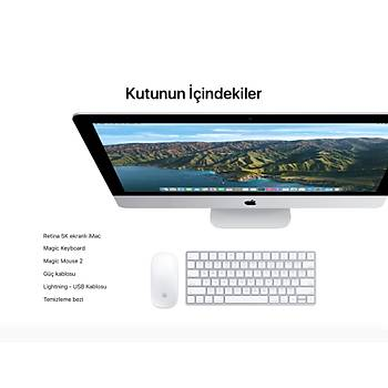 "iMac 27"" 5K i7 3.8GHz 8GB 512SSD 8GB RP5500XT MXWV2TU/A"