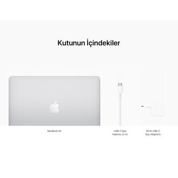"""MacBook Air 13"""" 8-Core CPU 7-Core GPU Apple M1 8GB 256GB SSD Silver MGN93TU/A"""
