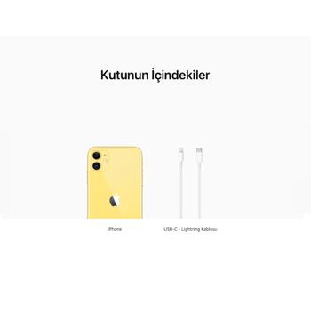 iPhone 11 Sarý 128GB MHDL3TU/A