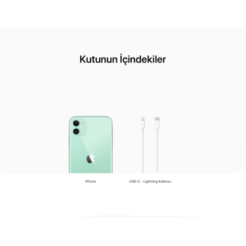 iPhone 11 Yeþil 128GB MHDN3TU/A