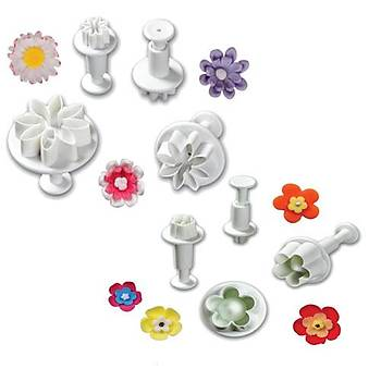 Papatya Çiçek Enjektörlü Kalıp