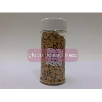 Sprinkles Büyük Kalp Altýn 70gr