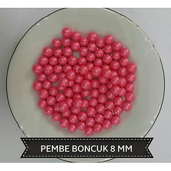 Pembe 2 mm Boncuk Sprinkles 45 gr.